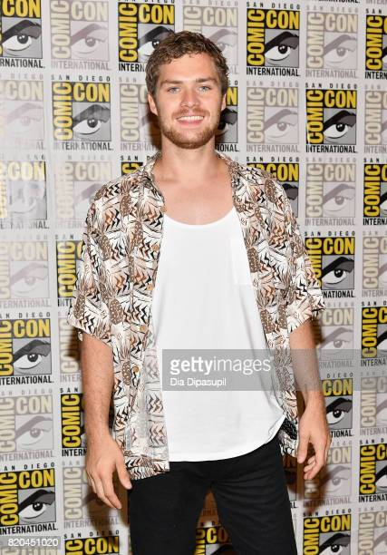 Actor Finn Jones at Marvel's 'The Defenders' Press Line during ComicCon International 2017 at Hilton Bayfront on July 21 2017 in San Diego California