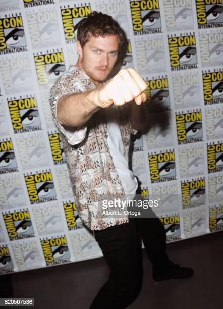 Actor Finn Jones attends Netflix's The Defenders panel during ComicCon International 2017 at San Diego Convention Center on July 21 2017 in San Diego...