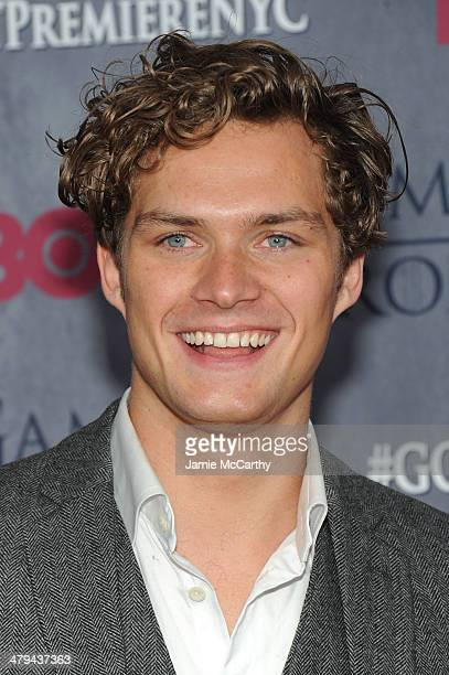 Actor Finn Jones attends the Game Of Thrones Season 4 New York premiere at Avery Fisher Hall Lincoln Center on March 18 2014 in New York City