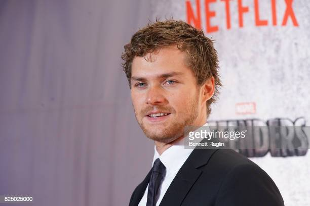 Actor Finn Jones attends the Marvel's The Defenders New York premiere at Tribeca Performing Arts Center on July 31 2017 in New York City