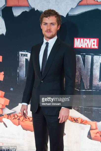 Actor Finn Jones attends the 'Marvel's The Defenders' New York premiere at Tribeca Performing Arts Center on July 31 2017 in New York City