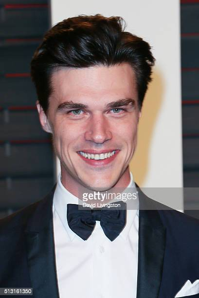 Actor Finn Wittrock arrives at the 2016 Vanity Fair Oscar Party Hosted by Graydon Carter at the Wallis Annenberg Center for the Performing Arts on...