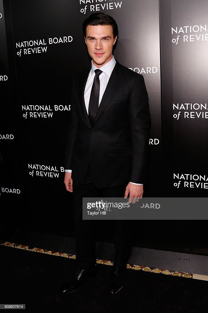 Actor Finn Wittrock attends the 2015 National Board of Review Gala at Cipriani 42nd Street on January 5, 2016 in New York City.