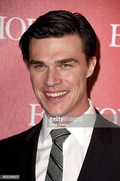 Actor Finn Wittrock attends the 27th Annual Palm Springs International Film Festival Awards Gala at Palm Springs Convention Center on January 2 2016...