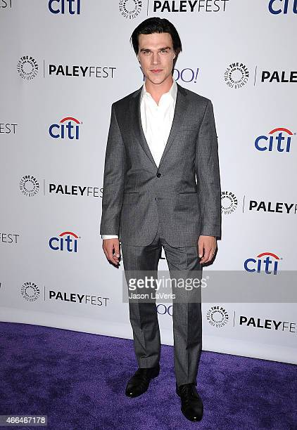 Actor Finn Wittrock attends the American Horror Story Freak Show event at the 32nd annual PaleyFest at Dolby Theatre on March 15 2015 in Hollywood...