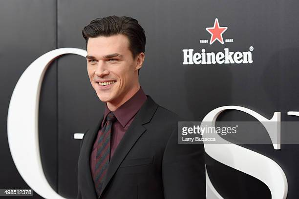Actor Finn Wittrock attends The Big Short Premiere at Ziegfeld Theatre on November 23 2015 in New York City