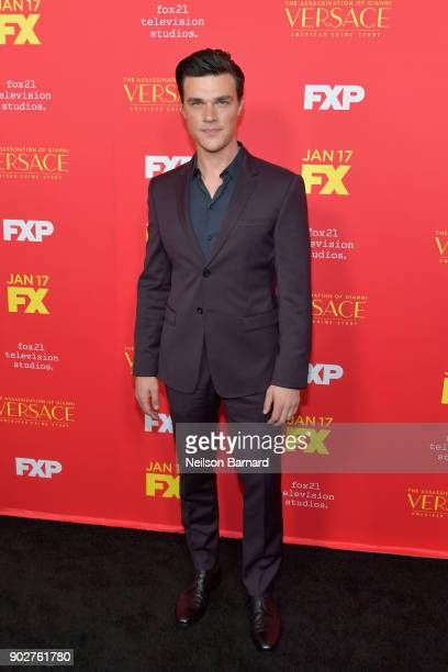 Actor Finn Wittrock attends the premiere of FX's 'The Assassination Of Gianni Versace American Crime Story' at ArcLight Hollywood on January 8 2018...