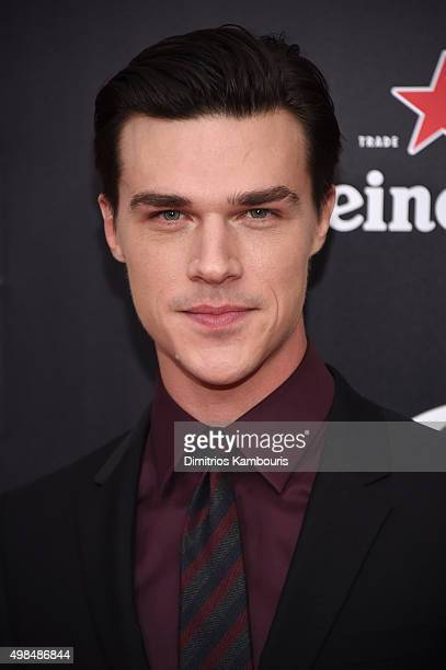 Actor Finn Wittrock attends the premiere of The Big Short at Ziegfeld Theatre on November 23 2015 in New York City