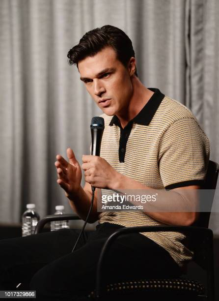 Actor Finn Wittrock attends the SAGAFTRA Foundation Conversations Screening of 'The Assassination Of Gianni Versace American Crime Story' at the...