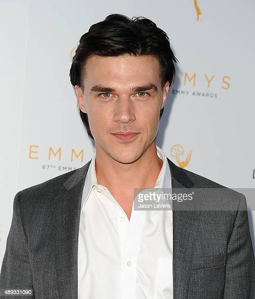 Actor Finn Wittrock attends the Television Academy's celebration for the 67th Emmy Award nominees for outstanding performances at Pacific Design...