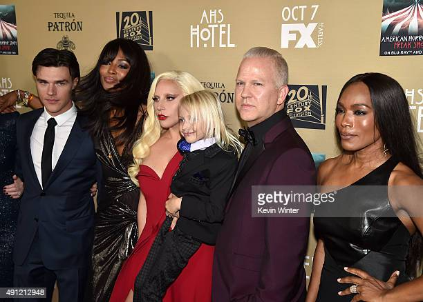 Actor Finn Wittrock, Naomi Campbell, actress/singer Lady Gaga, actor Lennon Henry, writer/director/producer Ryan Murphy and actress Angela Bassett...