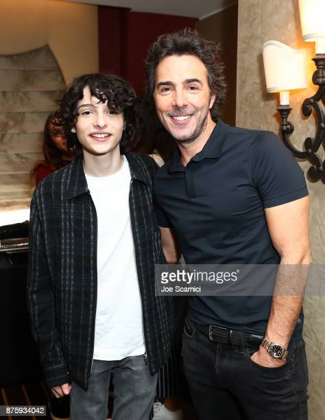 Actor Finn Wolfhard and producr Shawn Levy attend the 'Stranger Things Inside the Upside Down' panel part of Vulture Festival LA Presented by ATT at...