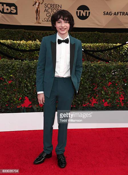 Actor Finn Wolfhard arrives at the 23rd Annual Screen Actors Guild Awards at The Shrine Expo Hall on January 29 2017 in Los Angeles California