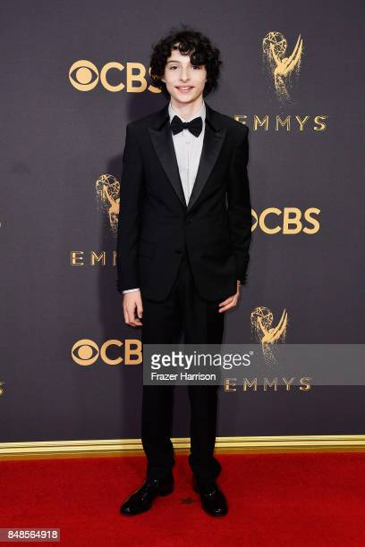 Actor Finn Wolfhard attends the 69th Annual Primetime Emmy Awards at Microsoft Theater on September 17 2017 in Los Angeles California