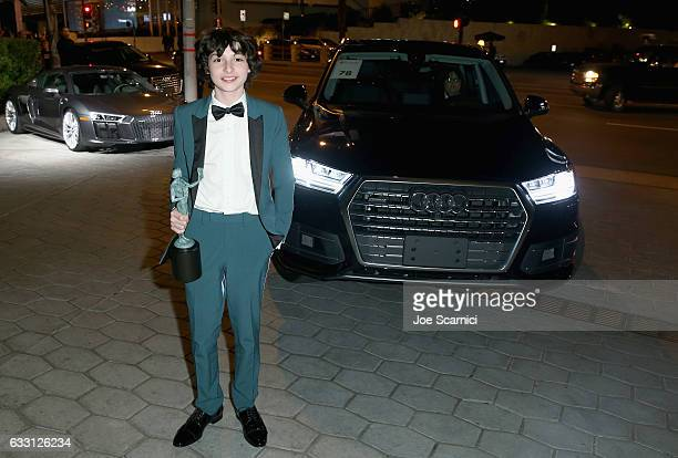 Actor Finn Wolfhard attends The Weinstein Company Netflix's SAG 2017 After Party presented by Audi at Sunset Tower Hotel on January 29 2017 in West...