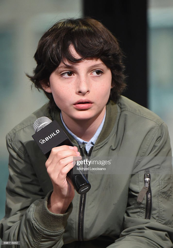 Actor Finn Wolfhard of 'Stranger Things' attends the BUILD Series at AOL HQ on August 31, 2016 in New York City.