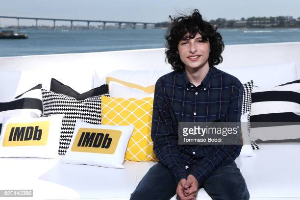 Actor Finn Wolfhard on the #IMDboat at San Diego ComicCon 2017 at The IMDb Yacht on July 21 2017 in San Diego California