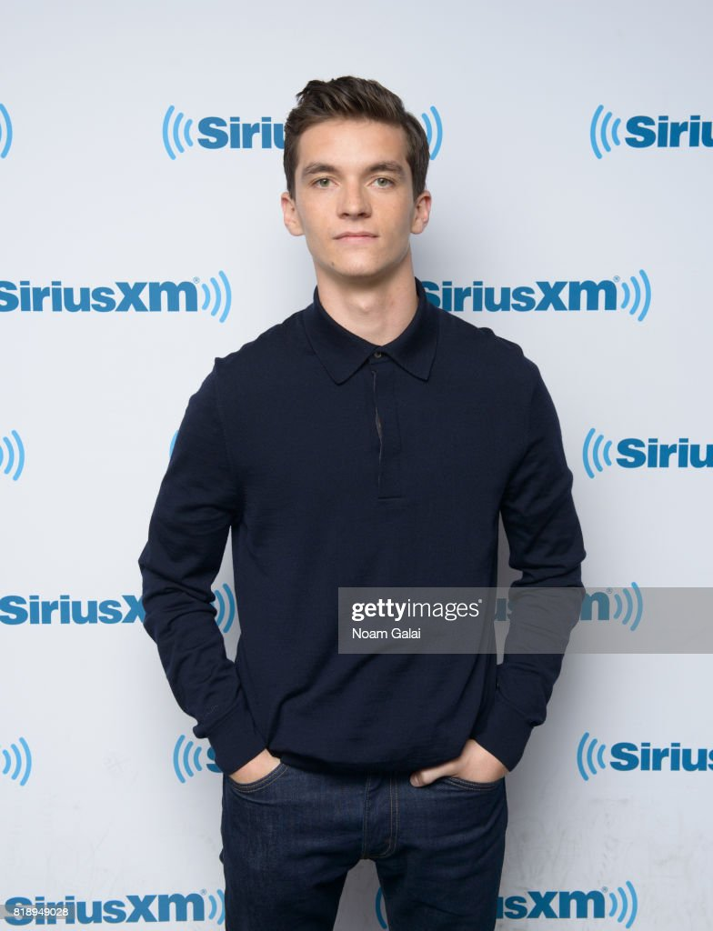 Actor Fionn Whitehead visits SiriusXM Studios on July 19, 2017 in New York City.