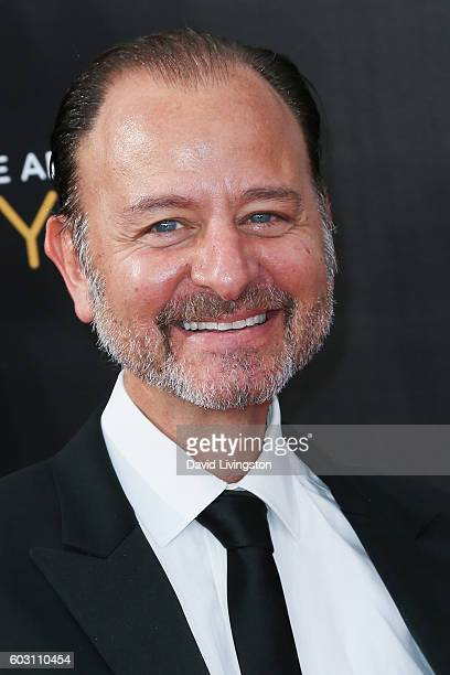 Actor Fisher Stevens attends the 2016 Creative Arts Emmy Awards Day 2 at the Microsoft Theater on September 11 2016 in Los Angeles California