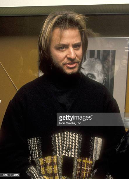 Actor Fisher Stevens attends the 'Rain Without Thunder' New York City Premiere on February 2 1993 at Bruno Walter Auditorium Lincoln Center in New...