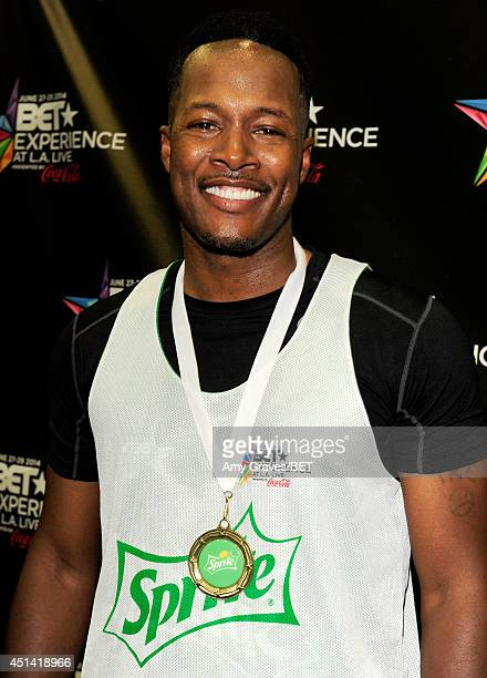 Actor Flex Alexander attends day 1 of a gifting suite during the 2014 BET Experience at LA LIVE on June 28 2014 in Los Angeles California