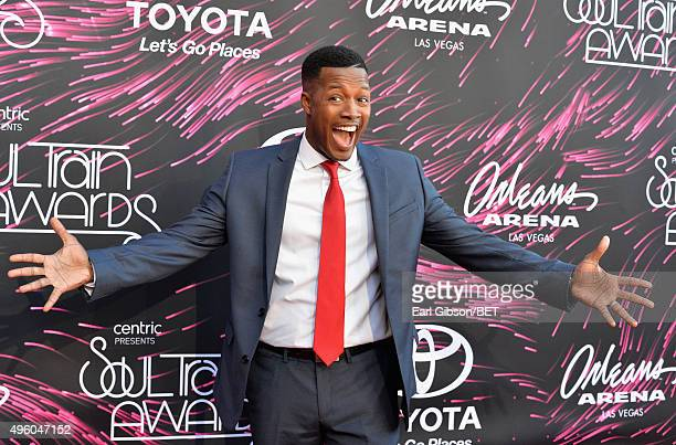 Actor Flex Alexander attends the 2015 Soul Train Music Awards at the Orleans Arena on November 6 2015 in Las Vegas Nevada
