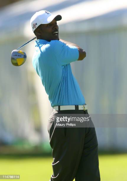 Actor Flex Alexander attends the Callaway Golf Foundation Challenge benefiting the Entertainment Industry Foundation cancer research programs held at...