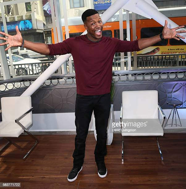 Actor Flex Alexander visits Hollywood Today Live at W Hollywood on July 27 2016 in Hollywood California