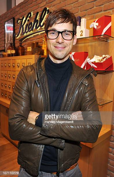 Actor Florian David Fitz attends the Kiehl's Store Opening on November 24 2010 in Munich Germany