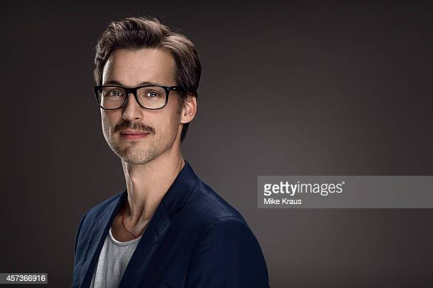 Actor Florian David Fitz is photographed for Self Assignment on July 1 2014 in Munich Germany