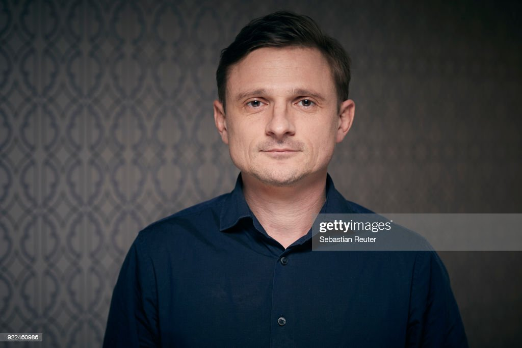 Actor Florian Lukas poses during the 'The Silent Revolution' (Das schweigende Klassenzimmer) portrait session at the 68th Berlinale International Film Festival Berlin at Hotel De Rome on February 20, 2018 in Berlin, Germany.