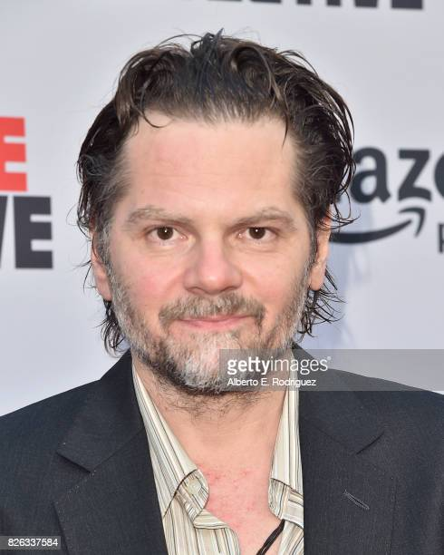 """Actor Florin Piersic Jr. Attends the premiere of Amazon's """"Comrade Detective"""" at ArcLight Hollywood on August 3, 2017 in Hollywood, California."""