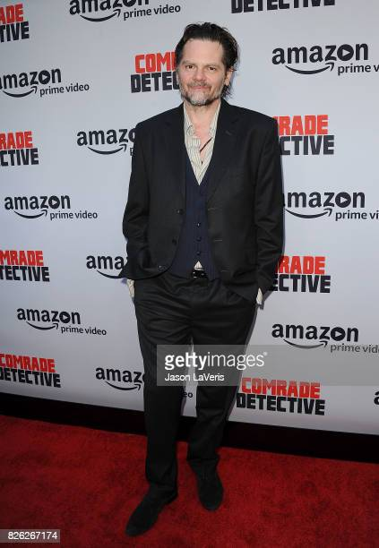 """Actor Florin Piersic Jr. Attends the premiere of """"Comrade Detective"""" at ArcLight Hollywood on August 3, 2017 in Hollywood, California."""