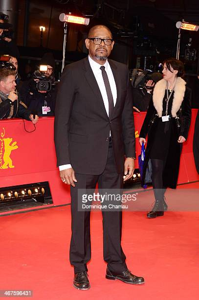 Actor Forest Whitake attends the 'Two Men in Town' premiere during 64th Berlinale International Film Festival at Berlinale Palast on February 7 2014...