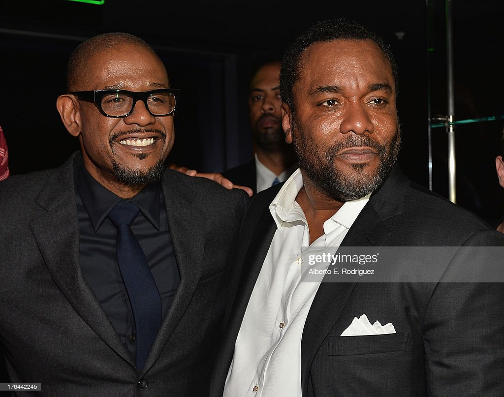 Actor Forest Whitaker and director Lee Daniels attend the after party for the Premiere Of The Weinstein Company's 'Lee Daniels' The Butler' at Regal Cinemas L.A. Live on August 12, 2013 in Los Angeles, California.