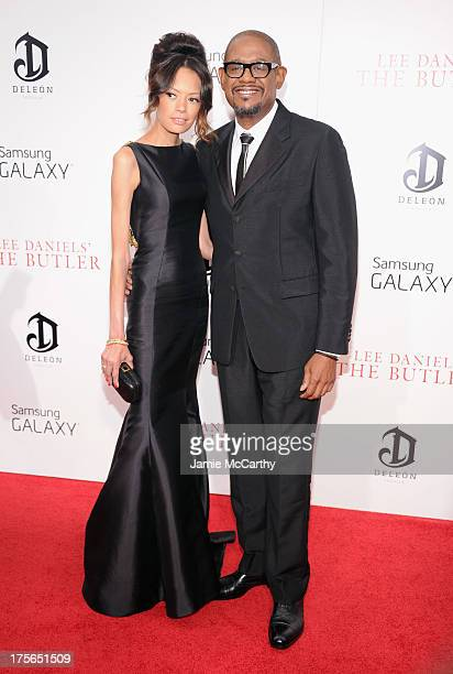 Actor Forest Whitaker and Keisha Nash Whitaker attend Lee Daniels' 'The Butler' New York Premiere at Ziegfeld Theater on August 5 2013 in New York...