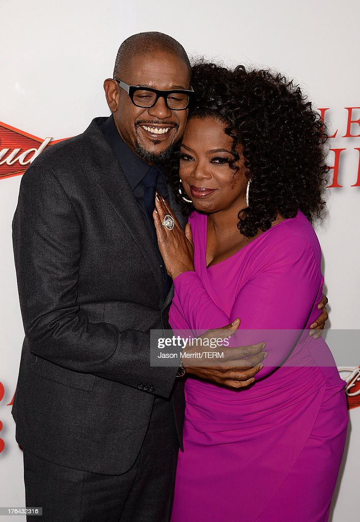 Actor Forest Whitaker (L) and TV Personality Oprah Winfrey arrive at the premiere of The Weinstein Company's 'Lee Daniels' The Butler' at Regal Cinemas L.A. Live on August 12, 2013 in Los Angeles, California.