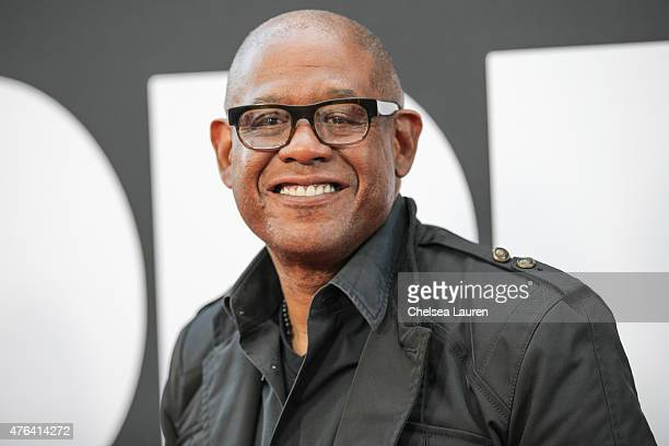 Actor Forest Whitaker arrives at the Los Angeles Film Festival premiere of 'Dope' at Regal Cinemas LA Live on June 8 2015 in Los Angeles California
