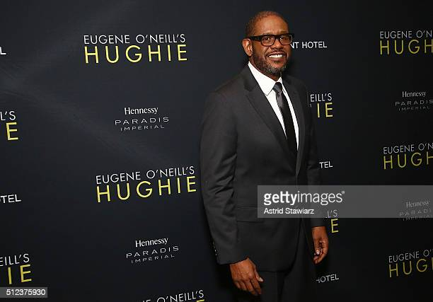 Actor Forest Whitaker attends 'Hughie' Broadway Opening Night at Booth Theater on February 25 2016 in New York City