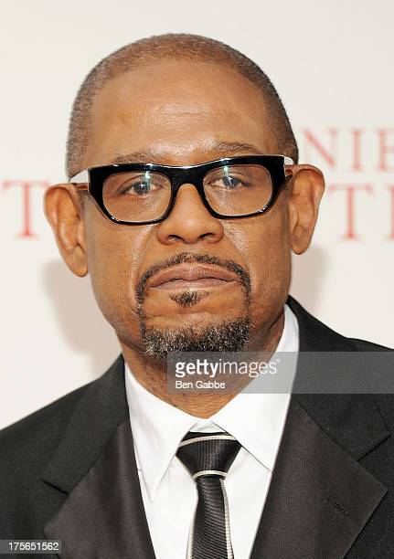 Actor Forest Whitaker attends Lee Daniels' 'The Butler' New York Premiere at Ziegfeld Theater on August 5 2013 in New York City