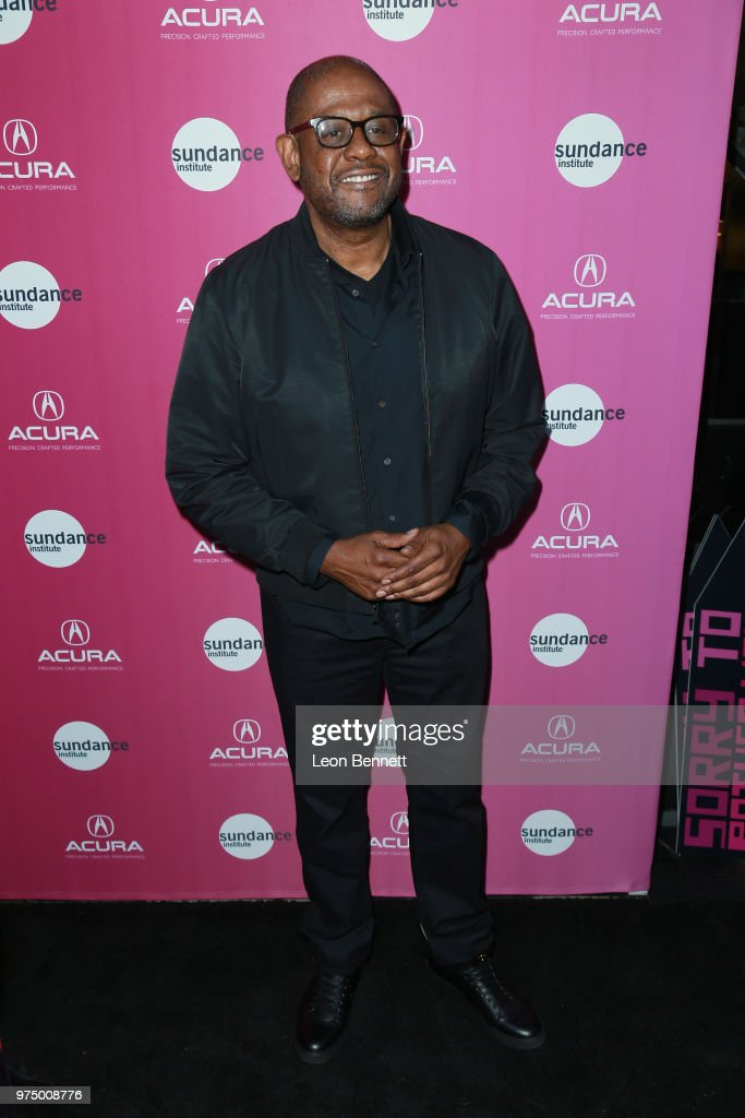 Actor Forest Whitaker attends Sundance Institute At Sundown at The Theatre at Ace Hotel on June 14, 2018 in Los Angeles, California.