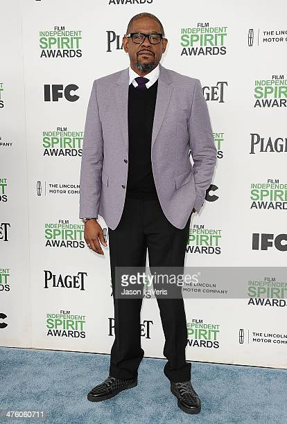 Actor Forest Whitaker attends the 2014 Film Independent Spirit Awards on March 1 2014 in Santa Monica California