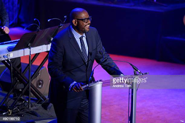 Actor Forest Whitaker attends the 2015 SouthSouth Awards at The Waldorf=Astoria on September 26 2015 in New York City
