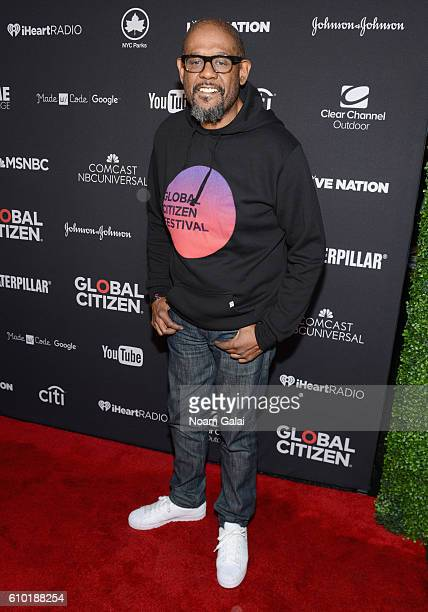 Actor Forest Whitaker attends the 2016 Global Citizen Festival In Central Park To End Extreme Poverty By 2030 at Central Park on September 24 2016 in...