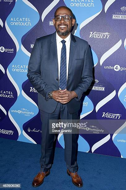 Actor Forest Whitaker attends the 2nd Annual unite4humanity presented by ALCATEL ONETOUCH at the Beverly Hilton Hotel on February 19 2015 in Los...