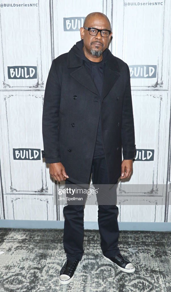 Actor Forest Whitaker attends the Build Series to discuss 'The Forgiven' at Build Studio on March 5, 2018 in New York City.