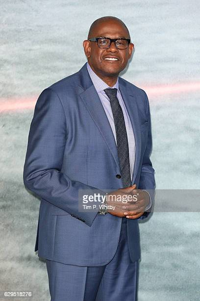 Actor Forest Whitaker attends the launch event for 'Rogue One A Star Wars Story' at Tate Modern on December 13 2016 in London England