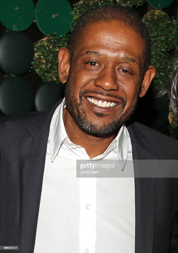 Actor Forest Whitaker attends The Official After Party For Earth Day New York at Greenhouse on April 22, 2010 in New York City.