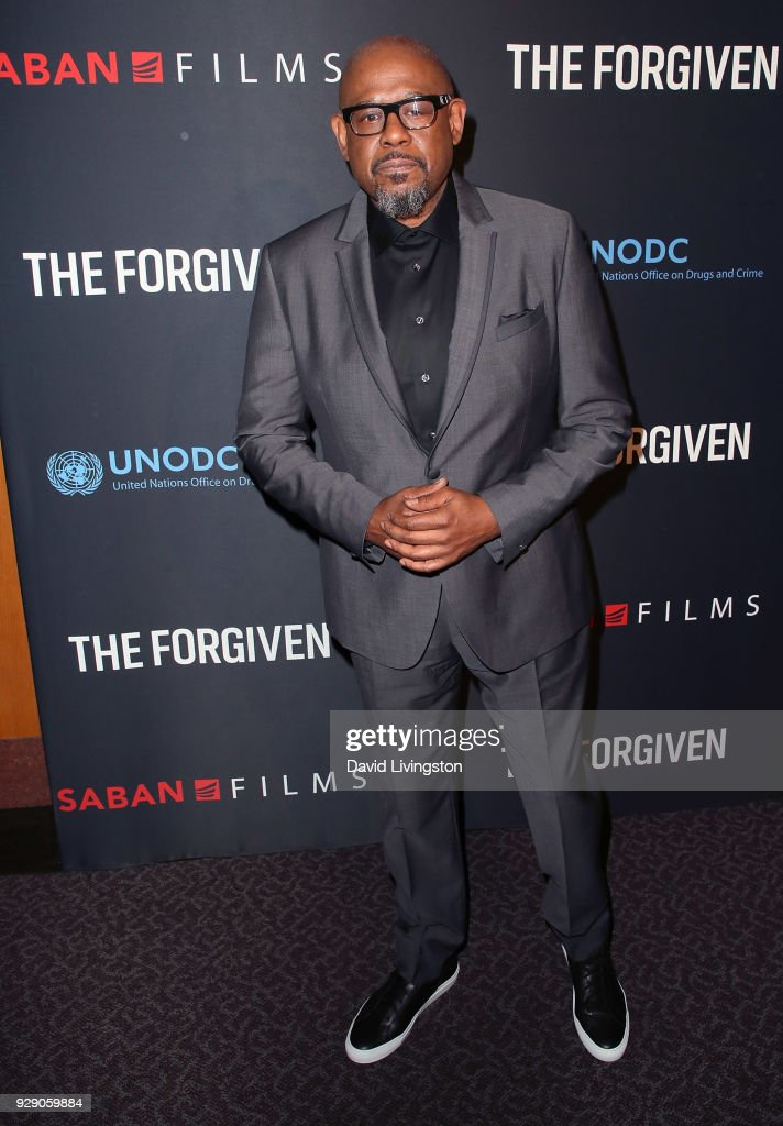 Actor Forest Whitaker attends the premiere of Saban Films' 'The Forgiven' at the Directors Guild of America on March 7, 2018 in Los Angeles, California.