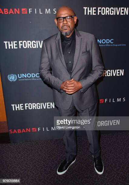 Actor Forest Whitaker attends the premiere of Saban Films' 'The Forgiven' at the Directors Guild of America on March 7 2018 in Los Angeles California